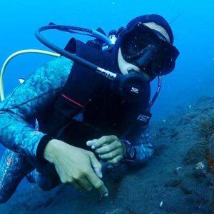 PADI Dive Instructor Nyoman Tulamben