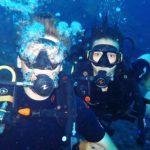 Scuba Divers Tulamben Bali