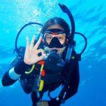 Scuba Diver Tulamben Bali