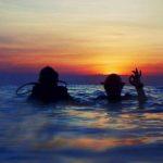 Diving at Sunrise in Tulamben Bali