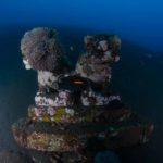 Statue in Tulamben Coral Garden Bali Dive Site